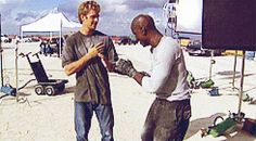 Paul Walker and Tyrese