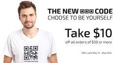 Take $10 off orders of $50 or more. #GayTShirts #GayPride #GayMen #NewGayCode