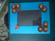 My first quilling frame..