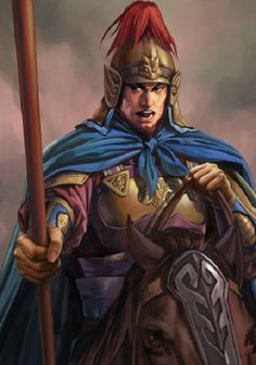 Xiahou Wei was a military general of Cao Wei during the Three Kingdoms period of Chinese history. Character Concept, Character Art, Concept Art, Conan Rpg, Samurai, Power Of Evil, Chinese Armor, Human Pictures, Dynasty Warriors