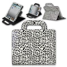 i need this leopard case! Ipad 3 Cases, Ipad Covers, Iphone Case Covers, Kate Spade Ipad Case, Market Price, Home Phone, White Leopard, New Mobile, Ipad 4