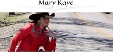 Award Winning Singer/Songwriter Mary Kaye is the Featured Guest on Campfire Cafe, July Country Music, Equestrian, Documentaries, Cover Up, Mary, Leather Jacket, Singer, Portrait, Celebrities