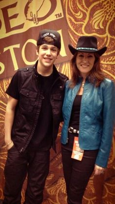 Austin and Mama Mahone