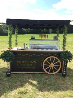 Book an ice cream cart for your wedding, birthday or corporate event. With Victoria's Ice Cream Cart you can enjoy really dairy ice cream with our Vintage Cart. The perfect look for a shabby sheek wedding