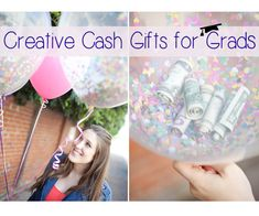 Try out these creative cash gifts for your grad this year!