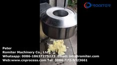 3ton Capcity Autommatic Potato Chips Cutting Machine for Sale