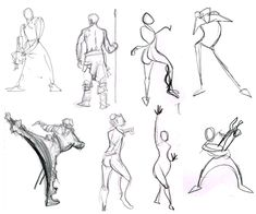 "Defining the Art: Gesture Drawing - http://www.animatorisland.com/defining-the-art-gesture-drawing/       ""We must be emotional about our subject whether it has to do with serious matters or with humor. We cannot back off from our emotions – if we do the result will be a mere anatomical reproduction."""