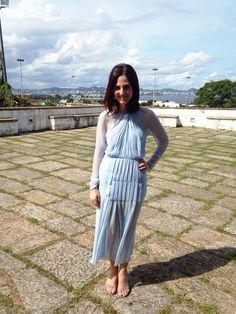 Look da Vic: Vestido vintage