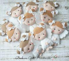 Barbara Handmade...: Aniołki na choinkę / Angels for Christmas tree