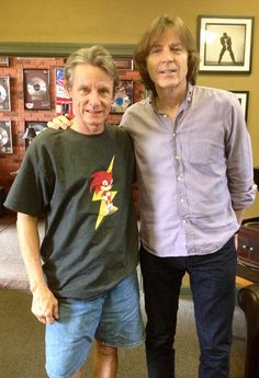 The legendary Terry Manning stopped by Ardent to chat with long-time friend Jody Stephens. Good to see you, Terry! Long Time Friends, Good To See You, Music People, Drummers, Big Star, Cool Bands, Memphis, The Beatles, Musicians