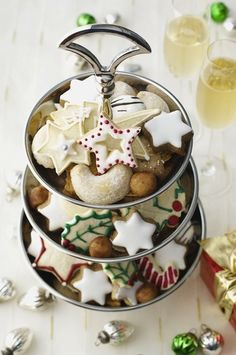 Festive cookies and biscuits are some of our favourite treats in the studio at time! Christmas Sweets, Christmas Kitchen, Christmas Cooking, Noel Christmas, Christmas Goodies, Christmas Cakes, Christmas Christmas, Christmas Entertaining, Xmas Holidays