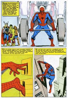 The Secrets of Spider-Man by Steve Ditko (suction cups?  That doesn't sound very spidery) Marvel