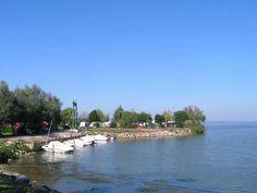 De kleine haven op de camping, neem je boot mee!!