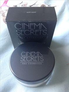 Cinema secrets 'soft light' finishing powder