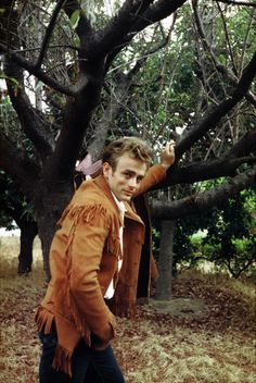 James Dean in Kit Carson type jacket. Kit and Dean were both sandy haired n short but tough