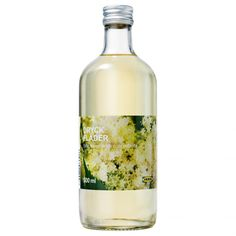 IKEA - DRYCK FLÄDER, Elderflower syrup, The elder bush bears white blossoms, suitable for making juice and jam. Mix with water as a table drink, or use as the base in different drinks. What Is Elderflower, Elderflower Drink, Best Stocking Stuffers, Best Ikea, Food Packaging Design, Swedish Recipes, Food Trends, Product Label, Refreshing Drinks