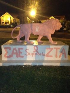 SAE supports ZTA. TFM. Hmmm, wonder if we could get the SAE's at YSU to do this!! haha