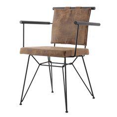 Kozza Home Endüstriyel Pyz Metal Sandalye