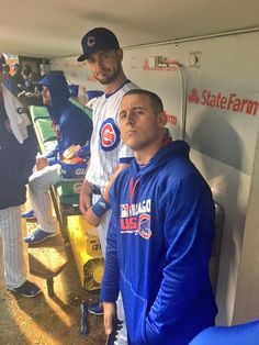 bryzzo Cubs doesnt like this rain Me either Rain is the only thing stopping us Looks like possibly same thing tomorrow Double header Wednesday Chicago Cubs Baseball, Baseball Boys, Baseball Players, Baseball 2016, Softball, Cubs Pictures, Cub Sport, Cubs Players, Cubs World Series