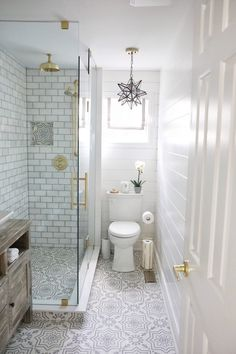 Before and After Bath Renovation - Home Bunch Interior Design Ideas - . - Before and After Bath Renovation – Home Bunch Interior Design Ideas – - Bathroom Renos, Bathroom Renovations, Home Renovation, Home Remodeling, Remodel Bathroom, Bathroom Furniture, Basement Bathroom Ideas, Small Shower Remodel, Restroom Remodel