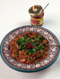 Bsal ou loubia tunisien: ragoût viande aux oignons et haricots blancs, harissa !