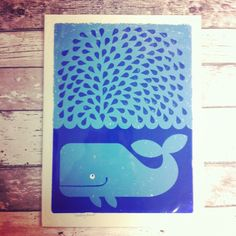 Whale print, available at nordliebe.com