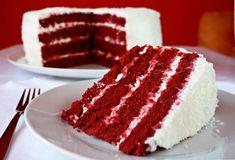 Red Velvet Cake recipe done easy. Recipe. Red velvet cake. Birthday cake. Party cake.
