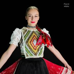 Region: Zemplín Locality: Parchovany,  Eastern Slovakia Folk Costume, Costumes, Traditional Clothes, Ethnic Style, Ethnic Fashion, Europe, Culture, Sweet, Pattern