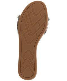 Vince Camuto Ettina Embellished Fringe Sandals - Tan/Beige 9.5M Fringe Sandals, Shoes Sandals, Vince Camuto, Ideas Para, Cowboy Boots, Clogs, Slippers, Comfy, Beige