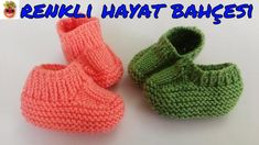 Easy Harasho Babyschuhe Modell – Narrated Construction – Mesh Lace … – ÖNAY BALCI – Join in the world of pin Knitting For Kids, Baby Knitting Patterns, Lace Knitting, Knitting Socks, Crochet Baby Shoes, Crochet Baby Booties, Crochet Slippers, Baby Converse, Knitted Baby Clothes