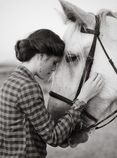 A Woman & her Horse