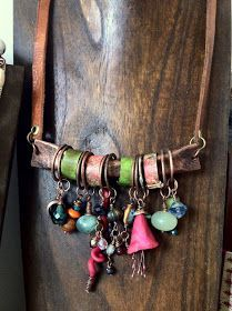 boho chic jewelry designers california | Bohemian Pages: Boho Jewelry, modern hippie fashion style | necklaces