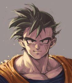 Gohan Dragon Ball Z, Dragon Z, Dbz, Mirai Gohan, Gorillaz, Dragon Images, Fan Art, Good Manga, Anime Art