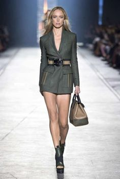 'Cute Jacket, but where are the pants?' JT (always in my own words)----Blumarine Spring 2016 RTW Fashion Show - The Cut