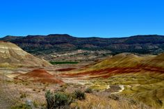 The Painted Hills, Oregon, High Desert