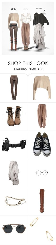 """""""★#4"""" by paty ❤ liked on Polyvore featuring Rick Owens, Isolde Roth, Converse, Paris Hilton, Brandy Melville, Yohji Yamamoto, Acne Studios, Naturalizer and Jeweliq"""