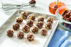 National Honey Board Recipe: No Bake Chocolate Peanut Butter Energy Bites