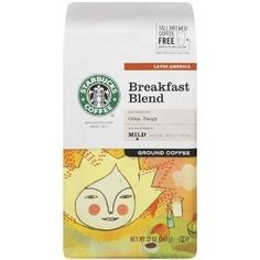 Starbucks Breakfast Blend Coffee, Ground, 12-Ounce Bags (Pack of 3) (Package may vary) (Grocery) http://www.amazon.com/dp/B001EQ546Y/?tag=wwwmoynulinfo-20 B001EQ546Y