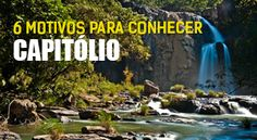 """Localizada entre a Serra da Canastra e o Lago de Furnas, a cidade de Capitólio possui muitos atrativos naturais. Conhecida por muitos como o """"Mar de Minas"""", o Lago de Furnas é o principal atrativo do município que também possui o maior número de embarcações (barcos e lanchas) do estado de Minas Gerais. Quem visita a cidade encontra um leque de atrações históricas e culturais para todos os gostos. As belezas da região são surpreendentes: cachoeiras, piscinas naturais, montanhas com trilhas…"""
