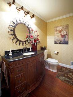 Bathroom Antique Cherry Vanity