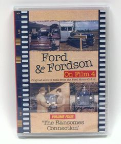Ford & Fordson Archive #4 `The Ransomes Connection` DVD