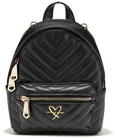 aee8da172b This Victorias Secret V-Quilt Mini City Backpack is sure to please for