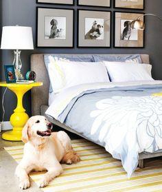 Chambre à coucher-  103 Grandes idées - chambre-a-coucher-tete-de-lit