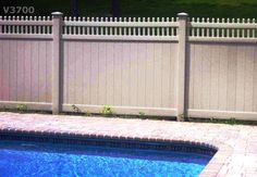 PVC Pool Fencing Pvc Pool, Pool Fence, Fencing, Environment, Outdoor Decor, Picket Fences, Environmental Psychology