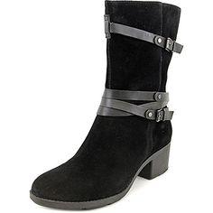 b8c8abf740b7 Bandolino Ursal Women US 9 Black Mid Calf Boot   Want to know more