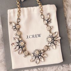 Beautiful jcrew necklace.