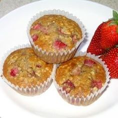 Recipe For Strawberry Oat Muffins