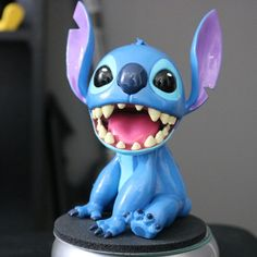 If you'd like to see more details, watch here: https://youtu.be/JbM4lfS2Fps  Today we're bringing you a 3D printed Stitch from the Disney movie Lilo and Stitch. Stitch is such an iconic character, and it was really fun to make into a full figure.  I modeled the whole thing in ZBrush in one sitting. It took about 6 hours from start to finish. I mostly used Dynamesh and just move things around until I get them looking right. Then I exported the model and cut off the botto...