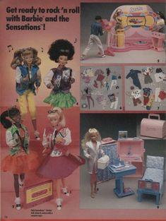swans crossing dolls - Google Search Barbie 1990, Christmas Catalogs, Barbie Accessories, Barbie Dream, Vintage Barbie, Vintage Ads, Little Twin Stars, Barbie Furniture, Barbie Friends