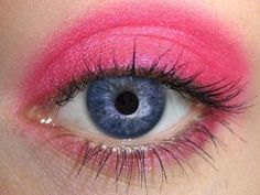 Geranium Eye Makeup Eye Shadow Eyeliner Natural Bright Pink Hot Pink Fuchsia Eyeshadow Pro Pigment Mineral Makeup  Not Bare Minerals Mineral Fusion MAC >>> Visit the image link more details.